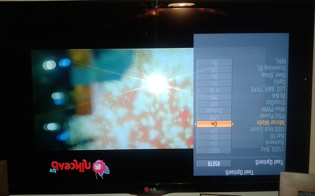 C lg for Mirror for lg tv